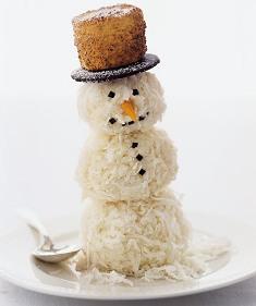 съедобний снеговик