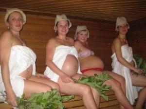 беременность и баня