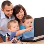 комьютер +и ребенок