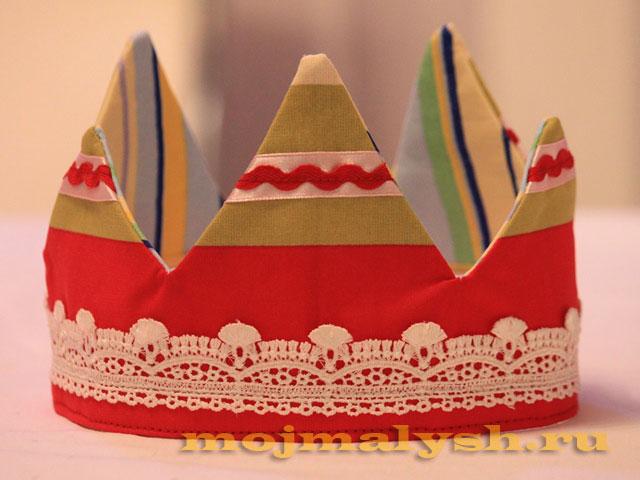 мастер-класс корона для девочки 13