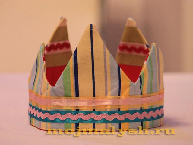 мастер-класс корона для девочки 14