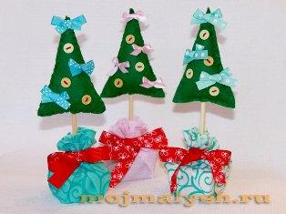 новогодняя елка своими руками  мастер-класс