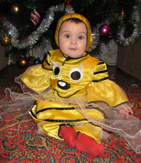 новогодний костюм Пчелки своими руками