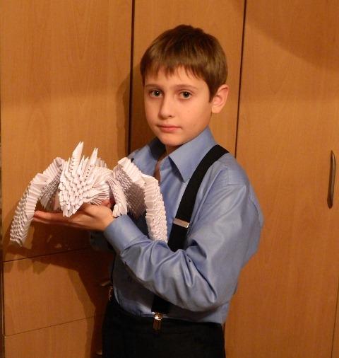 оригами дракон / Pinme