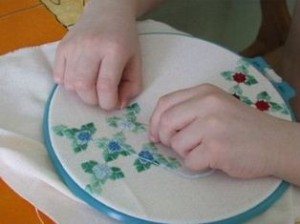 вышивка для детей