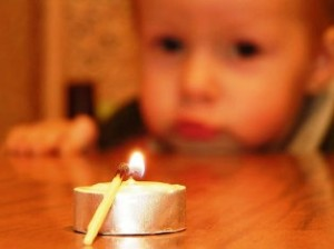 огонь и дети