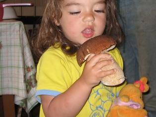 грибы и дети