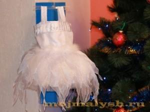детский костюм снежинки своими руками