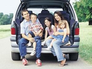 Семейный отдых: выбор средства передвижения