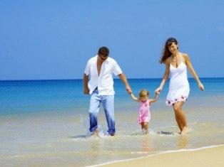 на море с ребенком